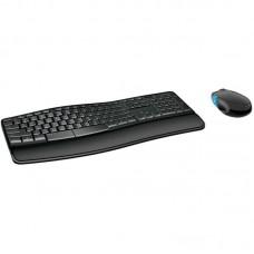Комплект Microsoft Comfort Desktop Black Ru