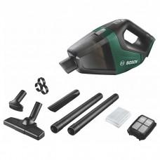 Пылесос аккумуляторный ручной Bosch UniversalVac 18, 18В, 2.5Ач, 1.л, 9кПа, 1.3кг