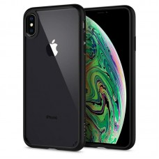 Чехол Spigen для iPhone XS Max Ultra Hybrid Matte Black (065CS25128)