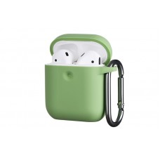 Чехол 2Е для Apple AirPods, Pure Color Silicone (3.0mm) , Light green