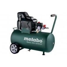 Компрессор Metabo Basic 250-50 W OF безмасляный
