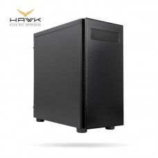 Корпус CHIEFTEC Gaming Hawk AL-02B,без БП,2xUSB3.0, черный