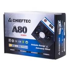 Блок питания CHIEFTEC RETAIL A-80 CTG-750C,12cm fan,a/PFC,24+8,4xPeripheral,6xSATA,2xPCIe,modular