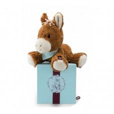 Мягкая игрушка Kaloo Les Amis Лошадка мокко 25 см в коробке K963002