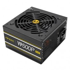 Блок питания Antec Value Power VP500P Plus 500W,12cm fan,a/PFC,24+8,2xPeripheral,1xFDD,7xSATA,2xPCIe
