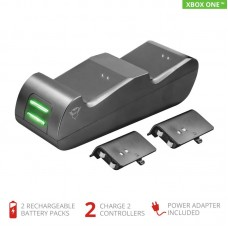 Зарядная станция Trust GXT 247 Duo Charging Dock suitable for Xbox One