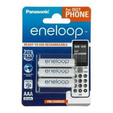 Аккумулятор Panasonic Eneloop AAA 750 3BP mAh NI-MH Dect Series