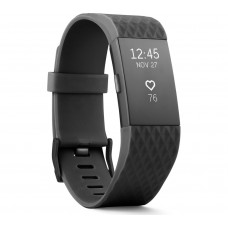 Cпортивний браслет Fitbit Charge 2 Gunmetal (Black/Small)