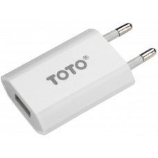 TOTO TZV-44 Travel charger 1USB 1A White