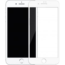 Mocoll 3D Full Cover 0.3mm Black Diamond Tempered Glass Apple iPhone 7 Plus/8 Plus White
