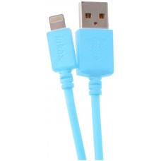 INKAX CK-08 Lightning cable 2m Blue