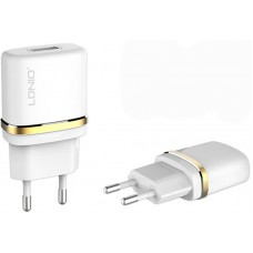 LDNIO DL-AC50 Travel charger 1USB 1A + Lightning cable White