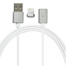 Mocolo SJX022 magnetic cable For Lightning 1M Silver