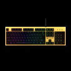 Ігрова клавіатура Hator Rockfall Mechanical Red Switches Yellow Edition RU (HTK-603)