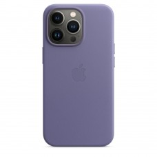 Чохол Apple iPhone 13 Pro Leather Case with MagSafe - Wisteria (MM1F3)