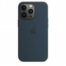 Чохол Apple iPhone 13 Pro Max Silicone Case with MagSafe - Abyss Blue (MM2T3)