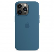 Чохол Apple iPhone 13 Pro Max Silicone Case with MagSafe - Blue Jay (MM2Q3)