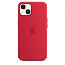Чохол Apple iPhone 13 Silicone Case with MagSafe - PRODUCT RED (MM2C3)