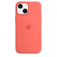 Чохол Apple iPhone 13 mini Silicone Case with MagSafe - Pink Pomelo (MM1V3)