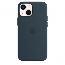 Чохол Apple iPhone 13 mini Silicone Case with MagSafe - Abyss Blue (MM213)