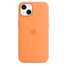 Чохол Apple iPhone 13 Silicone Case with MagSafe - Marigold (MM243)
