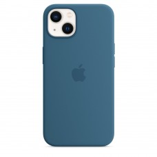 Чохол Apple iPhone 13 Silicone Case with MagSafe - Blue Jay (MM273)