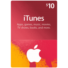 iTunes Gift Card $10