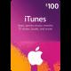 Подарочная карта iTunes Gift Card 100