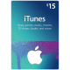 Подарочная карта iTunes Gift Card 15