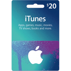 iTunes Gift Card $20