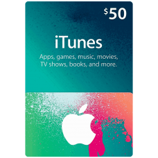 iTunes Gift Card $50