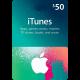 Подарочная карта iTunes Gift Card 50