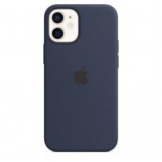 Чохол Apple iPhone 12 mini Silicone Case - Deep Navy (MHKU3)