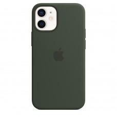 Чохол Apple iPhone 12 mini Silicone Case - Cyprus Green (MHKR3)