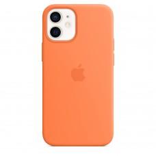 Чохол Apple iPhone 12 mini Silicone Case - Kumquat (MHKN3)