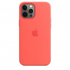 Чохол Apple iPhone 12 Pro Max Silicone Case - Pink Citrus (MHL93)