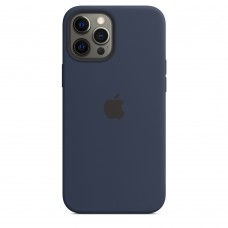 Чохол Apple iPhone 12 Pro Max Silicone Case - Deep Navy (MHLD3)