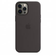 Чохол Apple iPhone 12 Pro Max Silicone Case - Black (MHLG3)