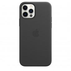 Чохол Apple iPhone 12 / 12 Pro Leather Case - Black (MHKG3)