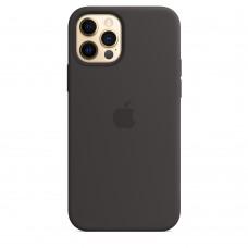 Чохол Apple iPhone 12 / 12 Pro Silicone Case - Black (MHL73)