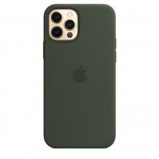 Чохол Apple iPhone 12 / 12 Pro Silicone Case - Cyprus Green (MHL33)