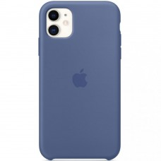 Чохол Apple iPhone 11 Silicone Case - Linen Blue (MY1A2)