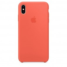 Чехол Apple iPhone XS Max Silicone Case - Nectarine (MTFF2ZM/A)