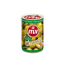 ITLV Оливки зеленые без косточки, 314 мл