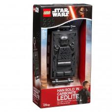 """LEGO Брелок-ліхтарик """"Зоряні Війни - """"Хан Соло в карбоніті"""", LGL-KE72"""