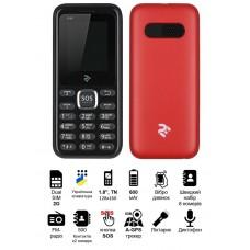 Мобильный телефон 2E S180 DUALSIM Red