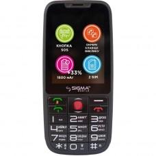 Мобільний телефон Sigma mobile Comfort 50 Elegance3 Black