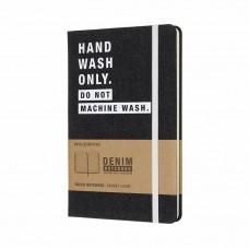 Записник Moleskine Denim середній / Лінійка Hand Wash