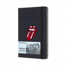Записник Moleskine Rolling Stones середній / Лінійка Денім