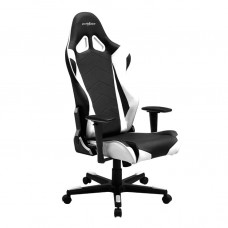 Игровое кресло DXRacer Racing OH/RE0/NW Black/White